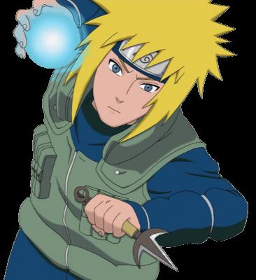 Отцом главного героя аниме наруто